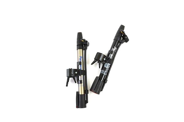 Panaracer/BFP-AMAS1(シルバー)/BFP-AMAB1(ブラック)ミニフロアポンプ【携帯可能 フットステップ装備】