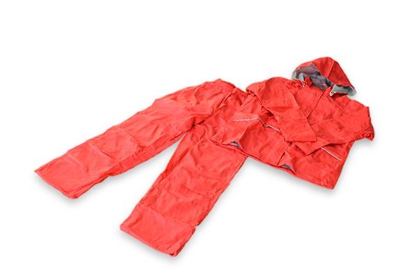 川西工業/女性用レインスーツ(Lサイズ)