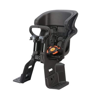ヘッドレスト付コンフォートフロント子供のせFBC-011DX(ブラック・ブラック)