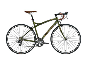 DARK GREEN(frame size 450mm)/LGS-CR07[アルミフレーム][外装14段変速]