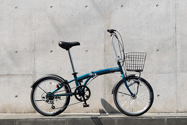 折りたたみ自転車画像