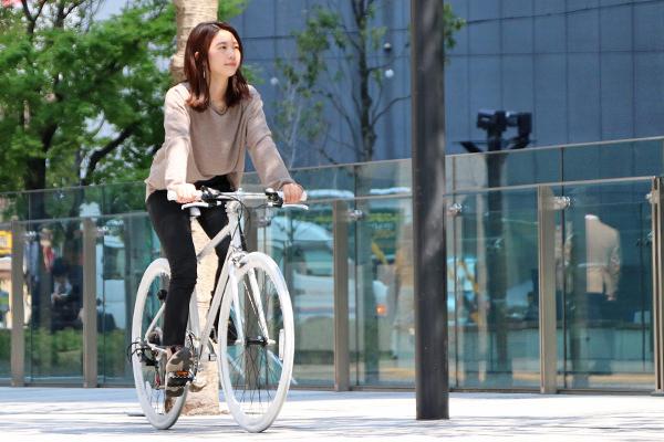 女性が乗りやすいスポーツ自転車