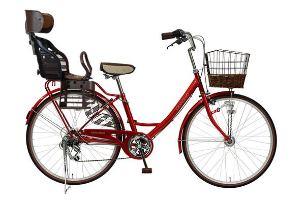 ヘッドレスト付チャイルドシート搭載グランディーノの商品画像