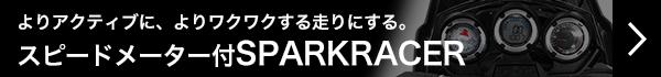 スピードメーター付SPARKRACER