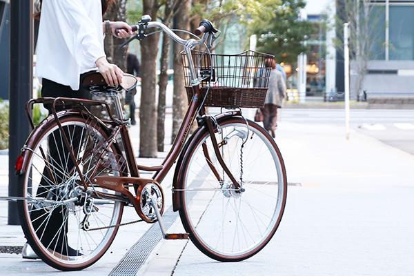 女性が乗りやすいシティサイクル