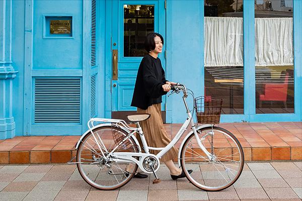女性の自転車選びのポイント