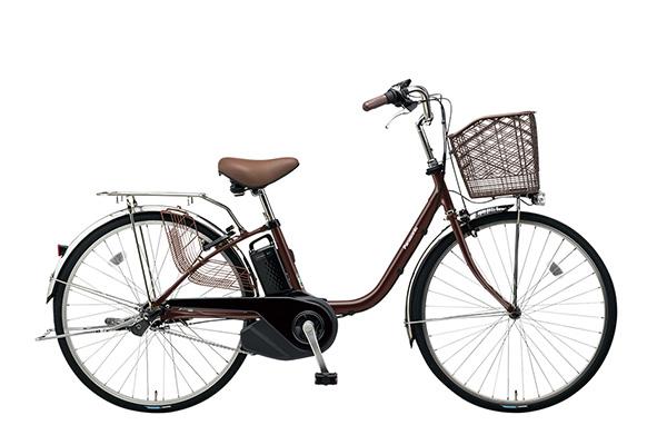バッテリーが大型のタイプの電動アシスト自転車の画像①パナソニック(Panasonic) ビビ・SX
