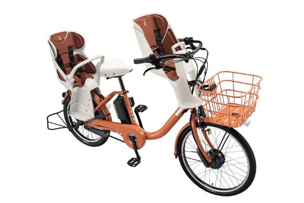 ブリヂストン(BRIDGESTONE) 3人乗り用チャイルドシート付きbikke MOB dd商品画像
