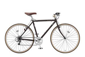 T.Bビターブラウン(frame size 510mm)/CHeRO(クエロ)700C-2015モデル-[クロモリフレーム][外装8段変速]