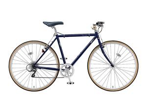 E.Bアイリッシュネイビー(frame size 540mm)/CHeRO(クエロ)700C-2015モデル-[クロモリフレーム][外装8段変速]