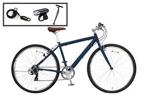 クロスバイク入門セット/cyma primer[アルミフレーム][外装7段変速]