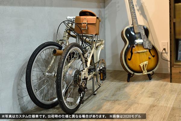 折りたたみ電動アシスト自転車(e-bike)のメリット②画像