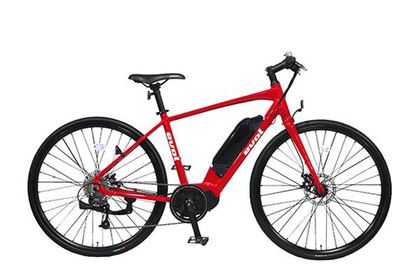 バッテリーが小型のタイプの電動アシスト自転車の画像②evol C700