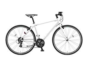 マット&グロスホワイト(frame size 420mm)/CYLVA F24 -2019モデル- [アルミフレーム][外装24段変速]