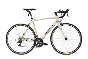 WHITE BLACK(frame size 510mm)/RD / SORA R3000[外装18段変速][700C][アルミフレーム]