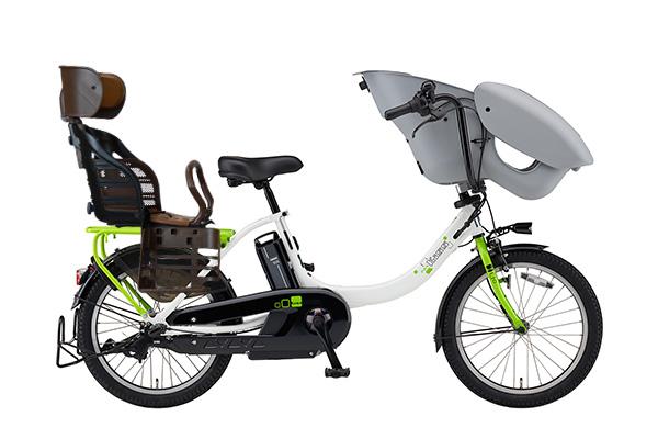 ヤマハ 3人乗り用チャイルドシート付きPAS kiss mini un -2019モデル-[内装3段変速][20インチ]