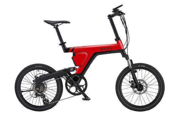 バッテリーが小型のタイプの電動アシスト自転車の画像②BESV(ベスビー) PSA1