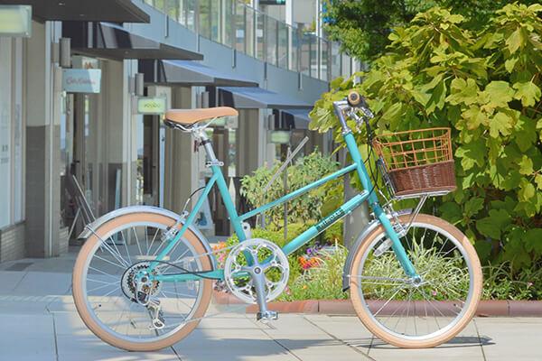 おしゃれな見た目の車種が豊富なミニベロ・小径自転車