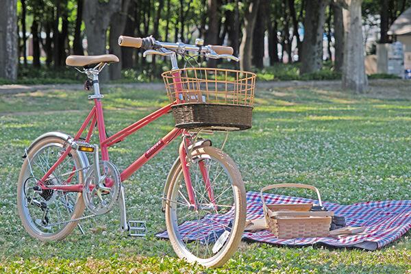 デザインとカラーが豊富な2万円の自転車