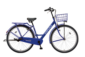 E.Xバイオレットブルー/700C(2019モデル)/ステップクルーズ -2019モデル-[内装3段変速][クラス27キャリア]