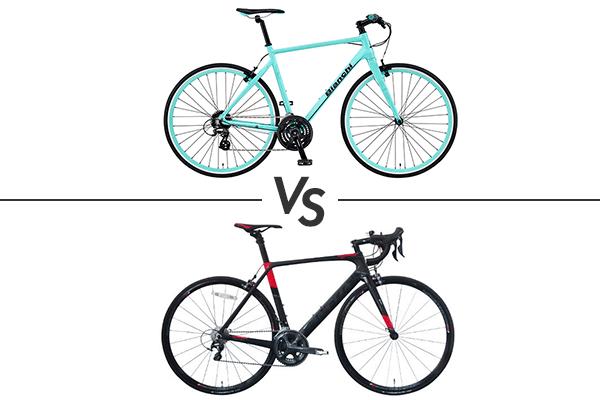 クロスバイク VS ロードバイク