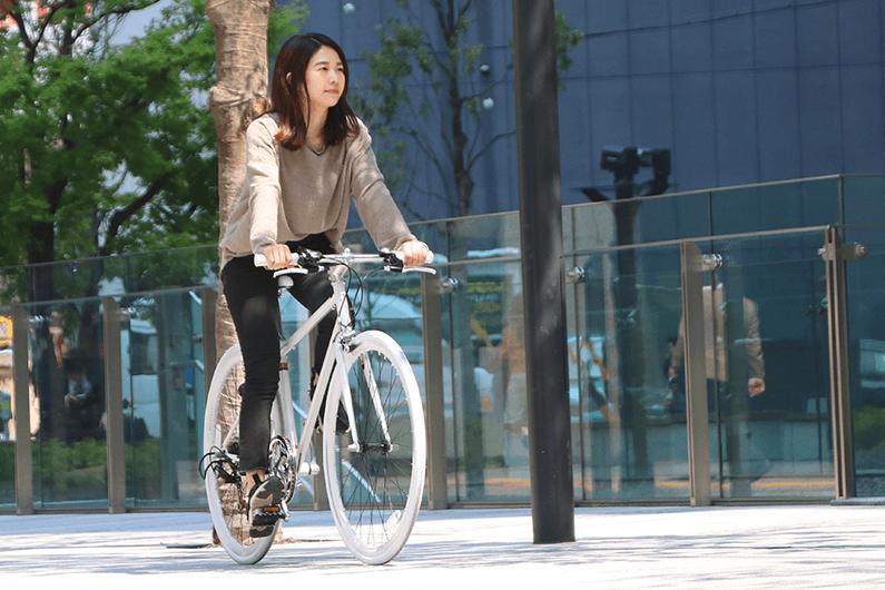 女性のクロスバイクの選び方