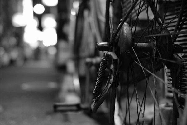 中古自転車購入時の画像