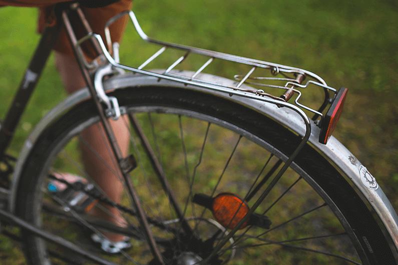 自転車サビ取りの画像