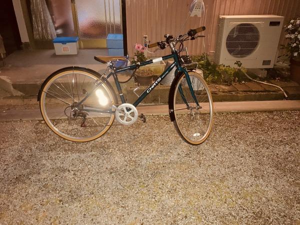 綺麗な自転車ありがとうございます。