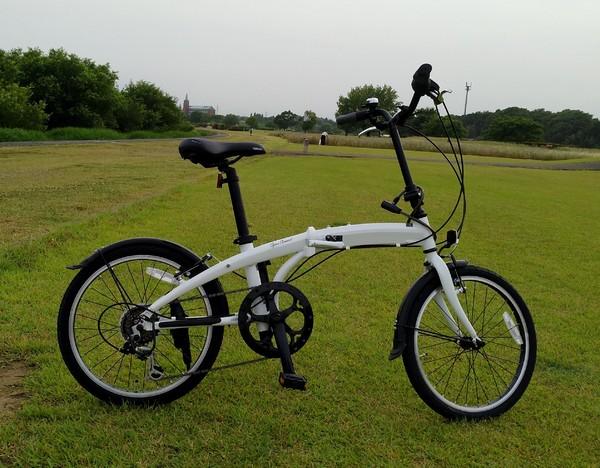久し振りの自転車