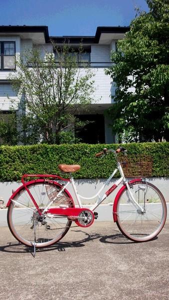 私のお気に入り自転車です