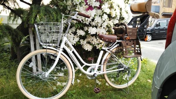 子供乗せ自転車デビュー