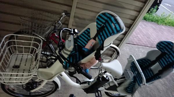 子供2人乗せて保育園通いにオススメ。