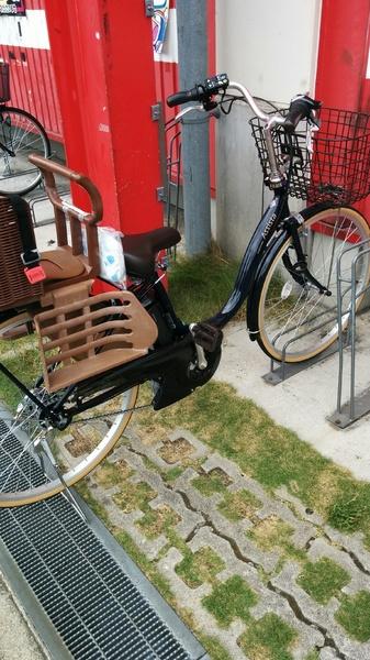 初!電動自転車