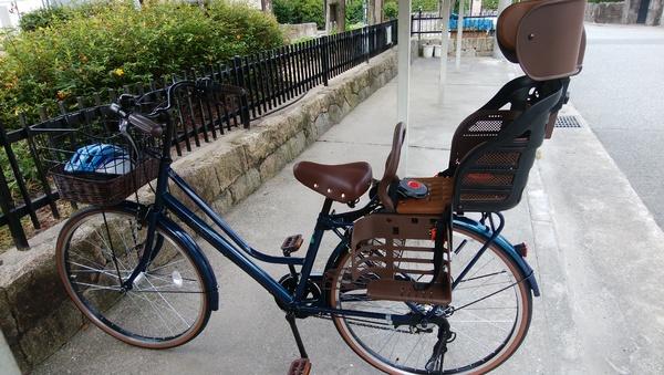 しっかりした自転車です